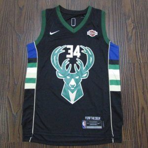 New Milwaukee Bucks Giannis Antetokounmpo Jersey